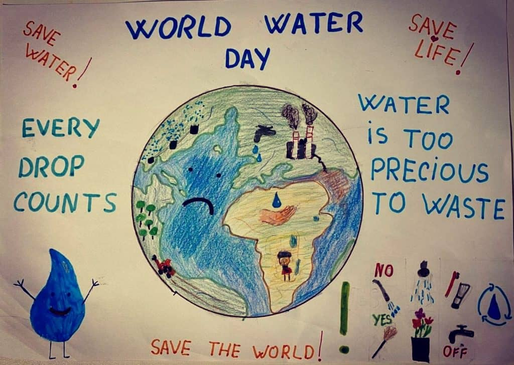 World Water Day Poster.