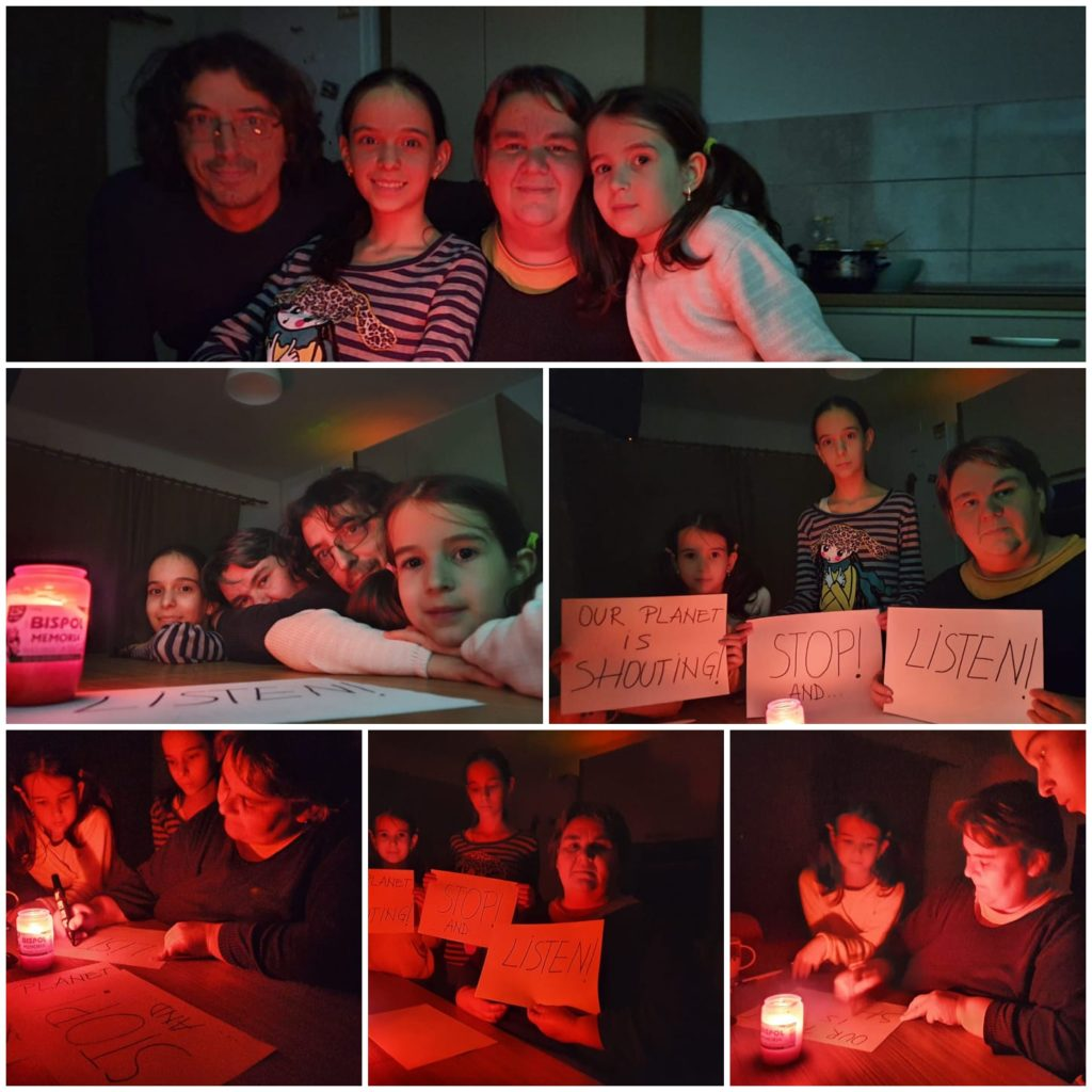 eTwinning project  activity Earth Hour