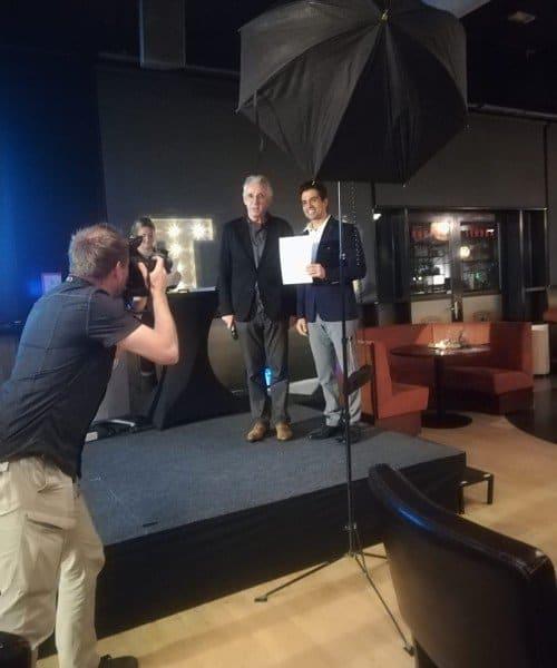 Scholarship winner at University of Twente.